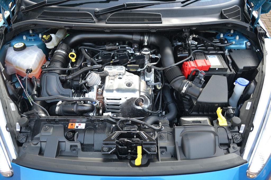 động cơ xe Ford Fiesta 2019