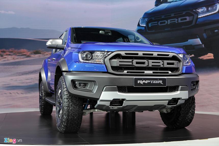 Ngoại thất xe Ford Ranger Raptor