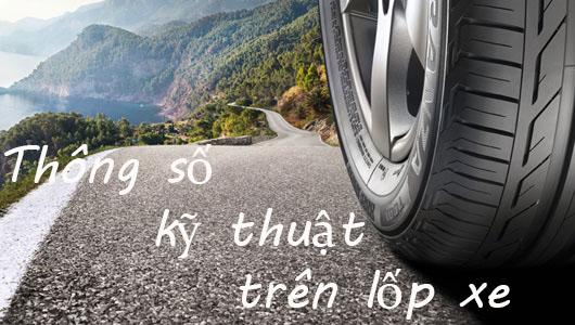 lop oto 1 - Những thông số kỹ thuật trên lốp xe không thể bỏ qua